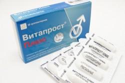 Витапрост для лечения простатита