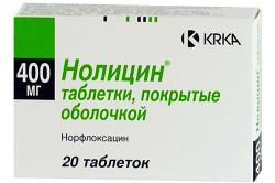 Нолицин при лечении цистита в домашних условиях
