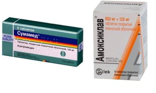 Амоксициллин и Сумамед помогают лечить бактериальные инфекции, которые не может преодолеть иммунная система организма