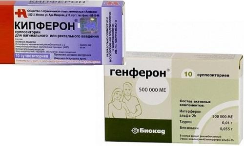 Для лечения вирусных заболеваний врачи назначают Генферон и Кипферон
