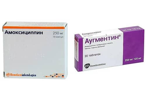 Наиболее популярными антибактериальными препаратами в борьбе с разными инфекциями являются Амоксициллин и Аугментин