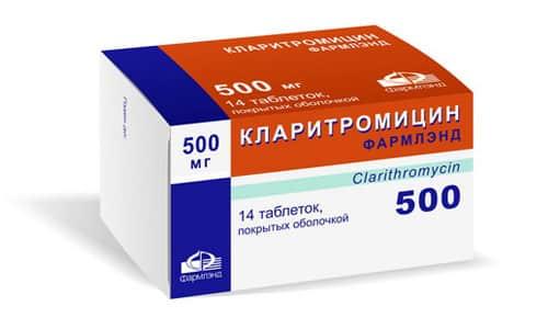 Кларитромицин хорошо переносится, вероятность возникновения побочных эффектов минимальная