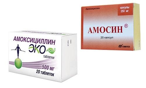 Амосин и Амоксициллин - популярные средства для лечения заболеваний воспалительного характера