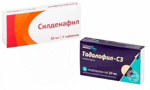 Силденафил или Тадалафил оказывают влияние на работу репродуктивных органов