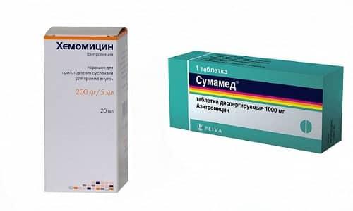 Выбирать, какой антибактериальный препарат принимать, Хемомицин или Сумамед, нельзя самостоятельно