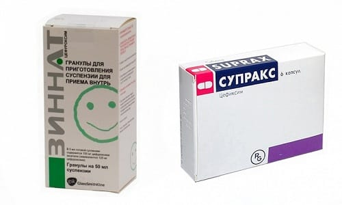 Для лечения заболеваний, которые вызывает бактериальная флора, врачи нередко назначают Зиннат или Супракс